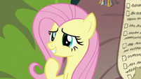 Fluttershy smiling with sympathy S9E18