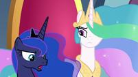 """Luna """"somepony should investigate"""" S8E25"""