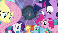 Mane Six in awe of Flurry Heart's power S6E1