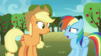 Rainbow Dash -look after them-- S8E5