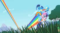 Rainbow saving Rarity and the Wonderbolts S1E16