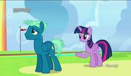 S06E24 Twilight Sparkle rozmawia ze Sky Stingerem