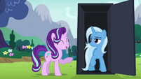 Starlight Glimmer gives a short laugh S6E6
