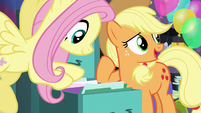 """AJ """"Pinkie Pie's made files for everypony in town!"""" S5E11"""