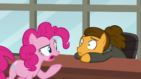 "Pinkie Pie ""you just can't laugh at it"" S9E14"