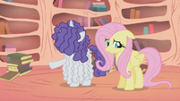 """Rarity """"there doesn't seem to be a thing wrong with her"""" S1E09"""
