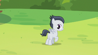 Rumble hears Sweetie Belle's announcement S7E21