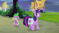 """Spike """"don't get to pick your own team"""" S9E16"""
