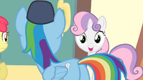 Sweetie Belle 'Well, actually, we kinda told her...' S4E05
