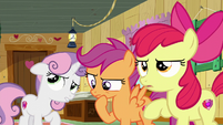 The Cutie Mark Crusaders thinking S6E4