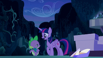 Twilight --Why would the map-- S5E26
