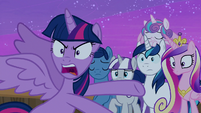Twilight Sparkle -not even my real family- S7E22