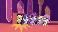 Twilight and friends burst into TV studio PLS1E1b