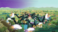 Vines disappearing from Ponyville S4E02