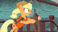 Applejack --we need to change course!-- S6E22