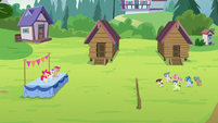 Camper foals returning to the CMCs' day camp S7E21