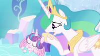 "Celestia ""her magic is more powerful"" S6E1"