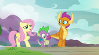 """Fluttershy """"what would make your brother happy?"""" S9E9"""