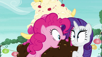 """Pinkie Pie """"the door to the rock pouch store is locked"""" S6E3"""