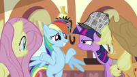 "Rainbow Dash ""But I don't even like cake"" S2E24"