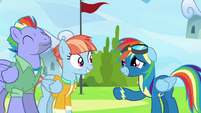 """Rainbow Dash """"so... good... to see you"""" S7E7"""
