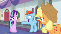 "Rainbow Dash ""we're terrible teachers!"" S8E1"