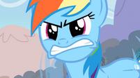 Rainbow Dash angry S02E15