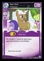 Rare Find, A Real Gem card MLP CCG