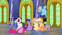 """Rarity """"things are going to change!"""" S9E26"""
