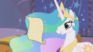 S01E12 Księżniczka Celestia czyta list od Twilight