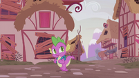 Spike --getting a bad feeling about this-- S5E25
