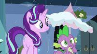 Spike --unless something's happened!-- S6E2