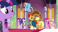 Twilight Sparkle's friends are eager to help out S7E25