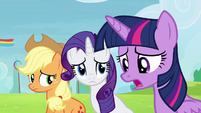 "Twilight Sparkle ""I don't think we're gonna qualify"" S4E10"