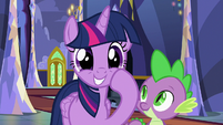 Twilight Sparkle excited to see Flurry Heart S7E3