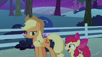 """Apple Bloom """"can't wait to check in the mornin'"""" S9E10"""