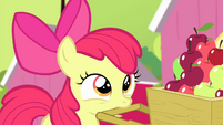 Apple Bloom looking S4E17