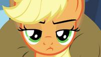 Applejack pouting S4E22