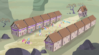 Equality village celebrating S5E2