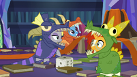 Maud Pie rolls a one and moves one space S7E24