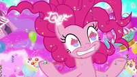 Pinkie Pie mad with chaotic power S9E25