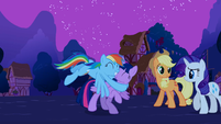 "Rainbow ""a new flying buddy!"" S3E13"