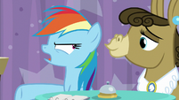 """Rainbow Dash """"that's totally different!"""" S9E16"""