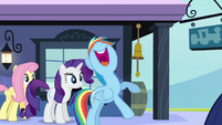"""Rainbow Dash excited """"that'll rock!"""" S03E12"""