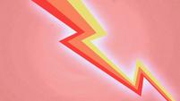 Red lightning bolt S1E14