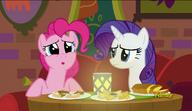 S06E12 Pinkie Pie potwierdza niesamowity smak jedzenia w restauracji