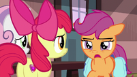 "Scootaloo ""there isn't another train"" S9E12"