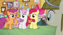 """Scootaloo """"you've come to the right place!"""" S7E6"""