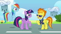 """Spitfire """"everypony's least favorite part of trial week"""" S6E24"""