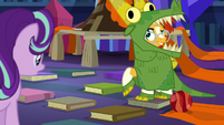 "Sunburst ""what do you think?"" S7E24"